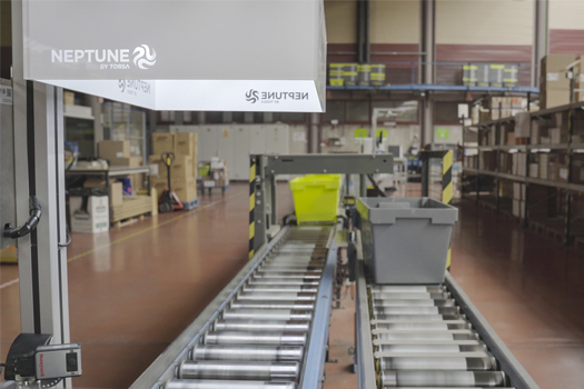 Utilização do sistema NEPTUNE para processos logísticos