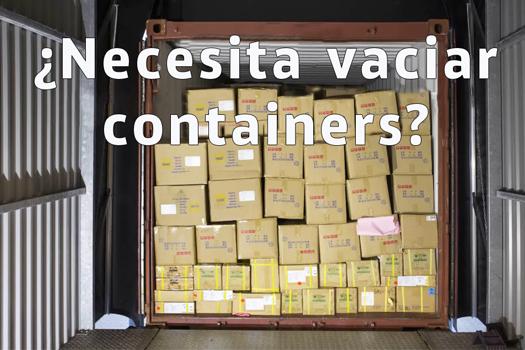 ¿Necesita vaciar Containers?