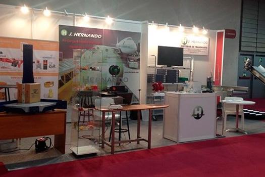 JHernando en la Feria Empack/Logistics 2014
