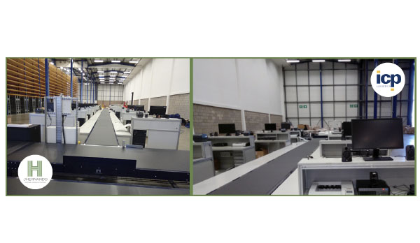 Recientemente JHernando ha fabricado e instalado un sistema de transporte para las instalaciones de ICP en Inglaterra