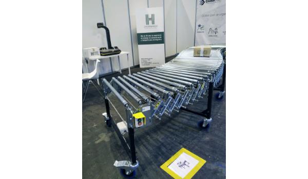 JHernando estuvo en la Global Robot Expo 2019 (GR-EX) celebrada en Madrid