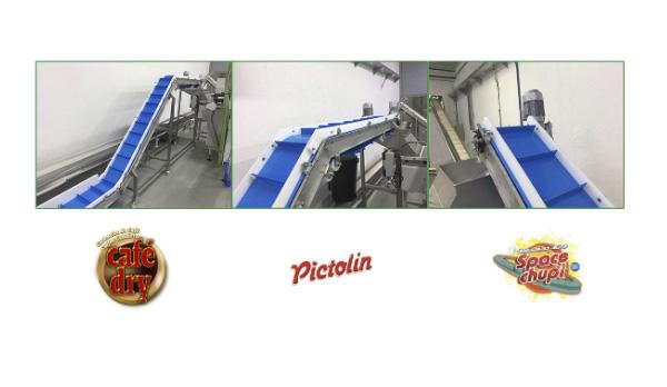 JHernando ha suministrado un sistema de transportadores para la fabrica de Intervan en Madrid