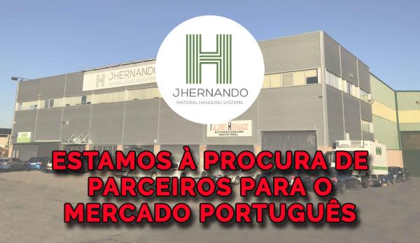 Estamos à procura de empresas parceiras para o mercado Português