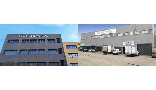 JHernando pone en marcha en Madrid una nueva fábrica de equipos para la logística del ecommerce