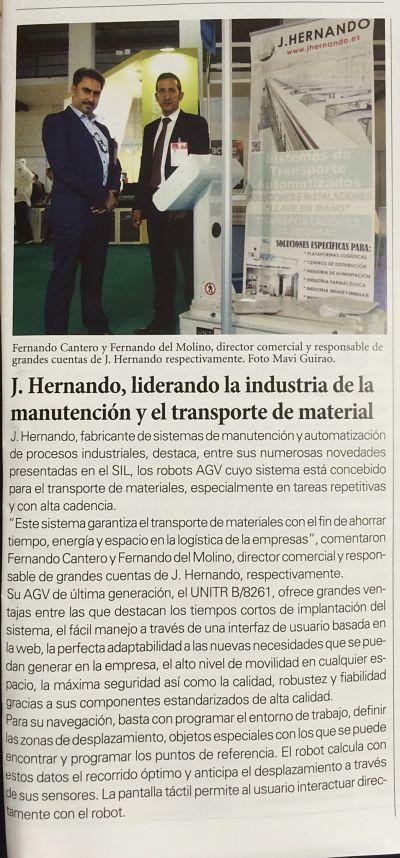 Liderando la industria de la manutención y el transporte de material