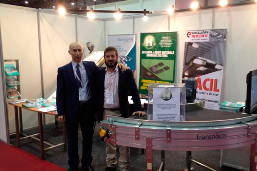 Feria Empack-Logistics 2015 celebrada en Oporto