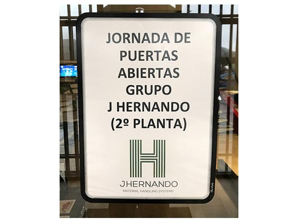 La Jornada de Puertas Abiertas de J.Hernando del día 11 de mayo fue un éxito de asistencia