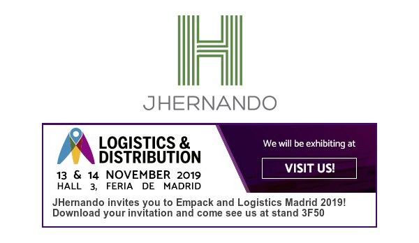 JHernando will be another year at Empack and Logistics Madrid 2019