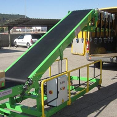 Transportadores para carga y descarga de furgonetas