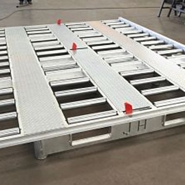 Slave pallets, Castor Decks, Roller Decks, Mesas Elevadoras (Lifting Tables)