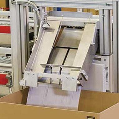 Sistemas de etiquetado y alimentación de documentos